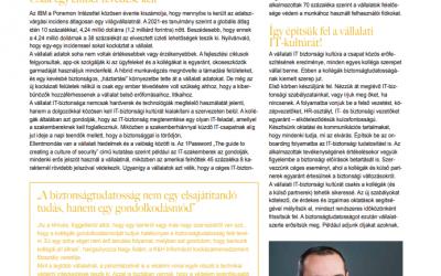 IT biztonsági kultúra – ITB magazin, 2021. október